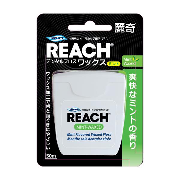 麗奇潔牙線含蠟薄荷單入-50m【康是美】