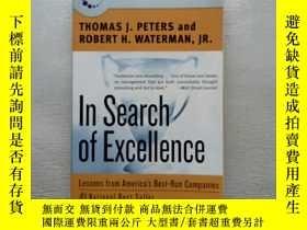 二手書博民逛書店In罕見Search of Excellence:Lessons