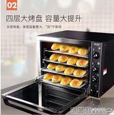 烤箱 馬卡龍蛋糕面包大型披薩電烤箱商用烘焙烤箱熱風烤箱熱風爐igo 220v 瑪麗蘇