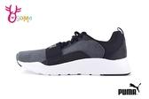 PUMA Wired Knit PS 慢跑鞋 中童 繃帶 透氣 運動鞋 J9510#黑灰◆OSOME奧森鞋業