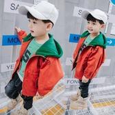 風衣童裝男童外套中小兒童風衣男孩寶寶洋氣韓版潮衣 伊鞋本鋪