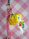 【震撼精品百貨】日本精品百貨-手機吊飾/鎖圈-米雪兒系列-黃女生
