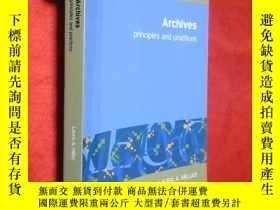 二手書博民逛書店Archives:罕見principles and practi