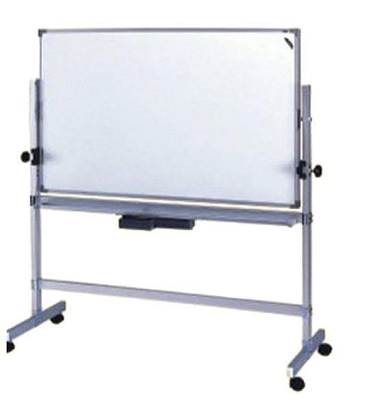 【環保傢俱】鋁合金雙面磁性白板架(附白板)125-07 (DIY-自組)