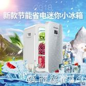 小冰箱迷你小型家用車載宿舍學生寢室兩用單門式制凍冷藏 愛麗絲精品igo