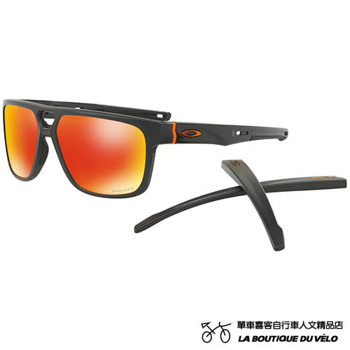 OAKLEY 奧克利 CROSSRANGE™ PATCH AERO FLIGHT COLLECTION 可替換鏡腳 運動休閒兩用太陽眼鏡