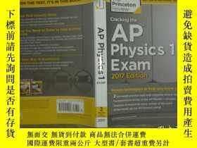 二手書博民逛書店Cracking罕見the AP Physics 1 Exam, 2017 【大16開】Y17808 Prin