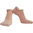 【岱宇國際Dyaco】SPIRIT 跑步踝襪(壓縮/除臭)-馬卡龍粉