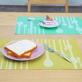 ◄ 生活家精品 ►【T33-1】水滴緹花隔熱餐墊 餐桌 西餐 防滑 隔熱 易清洗 廚房 用餐 風格