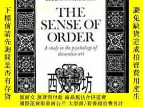 二手書博民逛書店【罕見】1979年The Sense of Order 貢布里希