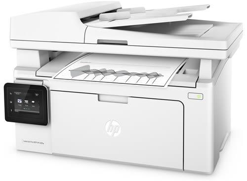 HP LaserJet M130fw 黑白無線雷射傳真複合機