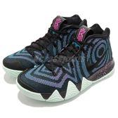 Nike Kyrie 4 EP Laser Fuchsia 80S Decades Pack 黑 桃紅 男鞋 籃球鞋 XDR 【PUMP306】 943807-007