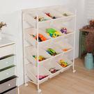 享樂12格玩具收納車【JL精品工坊】收納櫃 收納架 收納車 抽屜收納 玩具收納