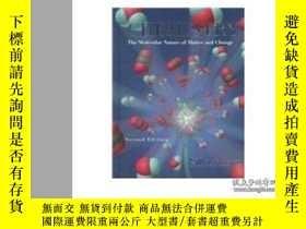二手書博民逛書店Chemistry:罕見The Molecular Nature Of Matter And ChangeY3