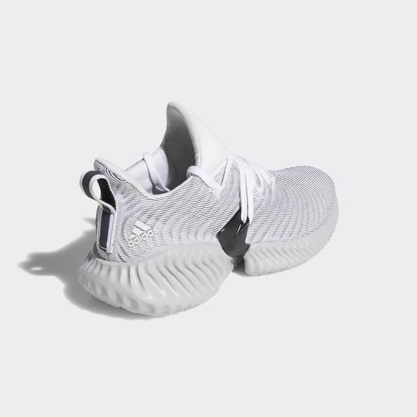 ISNEAKERS ADIDAS ALPHABOUNCE INSTINCT 灰白 馬牌底 運動 慢跑鞋 女鞋 CG5590