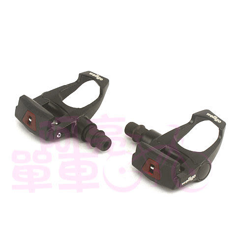 *阿亮單車*Wellgo 公路車卡式踏板,挑戰更有效率的踩踏感,黑色《A65-005-B》
