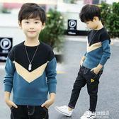 兒童毛衣童裝男童毛衣套頭兒童新款韓版中大童秋冬季針織衫加絨加厚潮多莉絲旗艦店