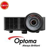(現貨)OPTOMA 奧圖碼 ML1050ST 微型短焦LED投影機 1000流明 1.7M投影100吋 公司貨