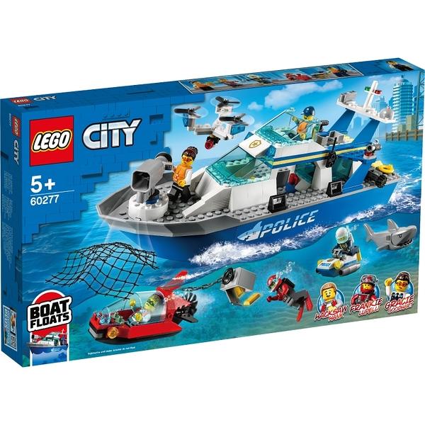 樂高積木Lego 60277 警用巡邏艇