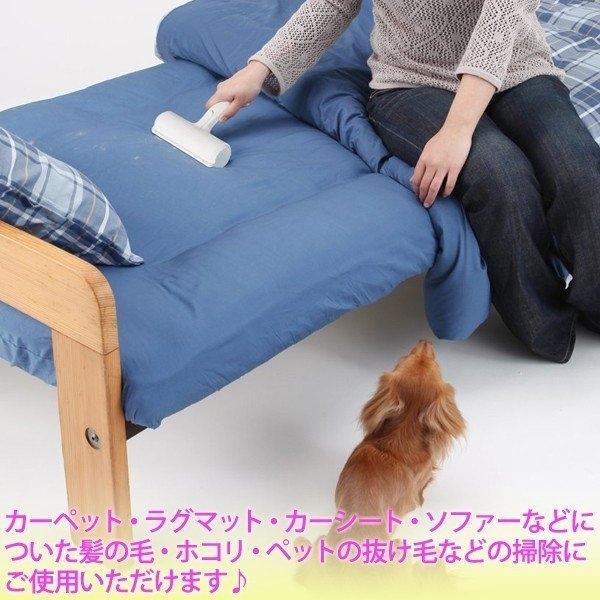 【杰妞】日本代購 NIPPON SEAL N76C 免耗材強力清潔滾輪 寵物 除毛滾輪 毛屑 灰塵