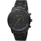agnes b.法式簡約太陽能計時腕錶 VR42-KGD0SD  BZ5005P1