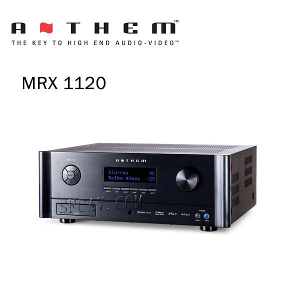 【新竹音響勝豐群】Anthem MRX 1120 環繞綜合擴大機 11.2聲道頂級款式