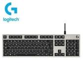 【綠蔭-免運】羅技 G413-白 機械式背光遊戲鍵盤 (920-008513)