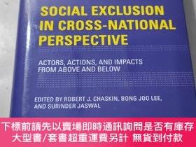 二手書博民逛書店葡萄牙語罕見SOCIAL EXCLUSION IN CROSS - NATIONAL PERSPECTIVE Ac