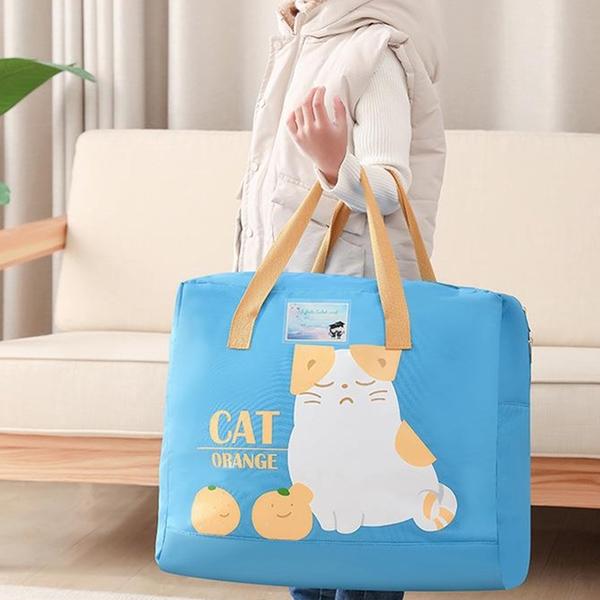 【BlueCat】幼兒園棉被衣物收納袋 (中) 被子 被褥收納袋 牛津布 防塵袋 睡袋 幼稚園