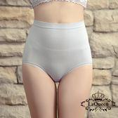 La Queen 萊卡環型塑腰彈力蠶絲塑褲(8619灰)