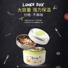 韓式創意可愛卡通保溫飯盒學生便當盒
