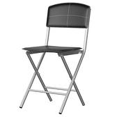好運折疊椅 黑色款 48x40x83cm