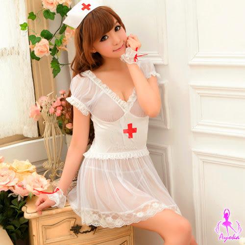 角色扮演cosplay角色服五件式護士服制服專賣【星光密碼】N012