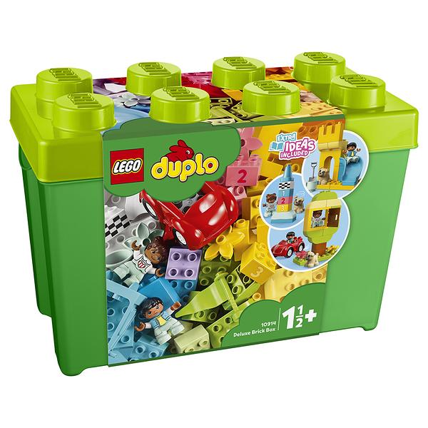 樂高積木 LEGO《 LT10914 》Duplo 得寶系列  - Deluxe Brick Box╭★ JOYBUS玩具百貨