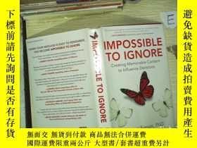二手書博民逛書店IMPOSSIBLE罕見TO IGNORE 不可能被忽視Y180897