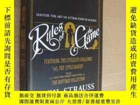 二手書博民逛書店Rules罕見of the game 英文版,再生紙印制Y85718 Neil Strauss 著 Harp