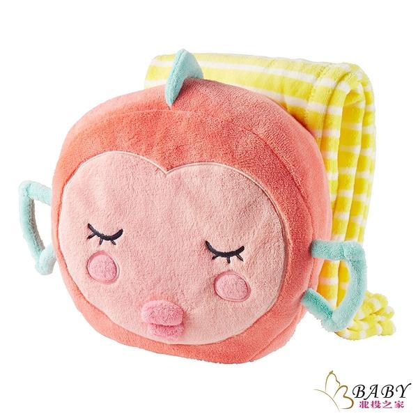 嬰兒寢具二件組 小毯子附枕頭 102cm 可愛幸運魚 | Carter s卡特 (嬰幼兒/寶寶/新生兒/小孩/小朋友)