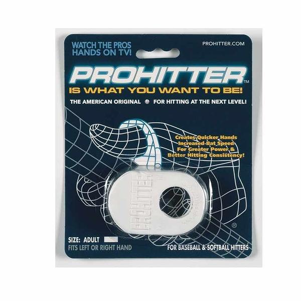Prohitter 打擊緩衝墊 Batters Training Aid-成人 黑/白/黃 [2美國直購]