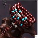 小葉紫檀木手鍊108顆佛珠