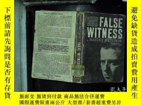 二手書博民逛書店FALSE罕見WITNESSY180897