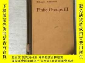 二手書博民逛書店Finite罕見Groups III 有限羣 第3卷(英文)精裝
