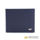 【BRAUN BUFFEL】HOMME-M系列8卡皮夾 -深藍 BF306-313-MAR