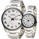 STAR 時代 永恆諾言時尚對錶 1T1512-211S-W 1T1512-111S-W 白
