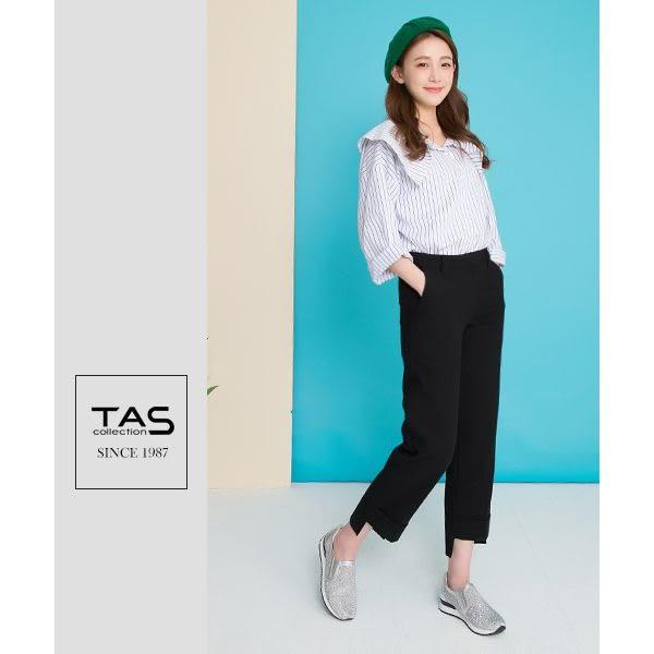 【↘5折】TAS滿版水鑽透膚感網布休閒鞋-閃耀銀