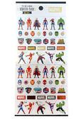 【卡漫城】 Marvel 燙金 貼紙 ㊣版 漫威 手機 筆記 美國隊長 蜘蛛人 綠巨人 雷神索爾 鋼鐵人 黑寡婦