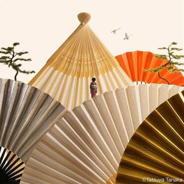 田中達也迷你微型攝影集:MINIATURE TRIP IN JAPAN
