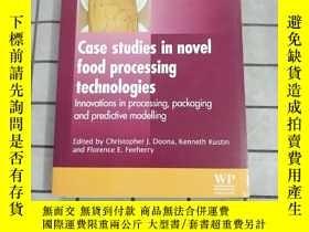 二手書博民逛書店Case罕見Studies in Novel Food Processing Tech... 進口原版 Y26