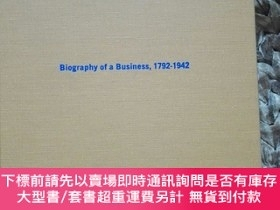 二手書博民逛書店Biography罕見of Business 1792-1942 INSURANCE COMPANY OF NOE