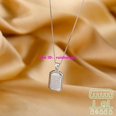 復古項鏈鎖骨鏈女簡約氣質百搭配飾【樹可雜貨鋪】