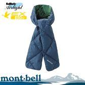 【Mont-Bell 日本 DOWN MUFFLER 羽絨圍巾《深海軍藍》】1118284/防寒圍巾/登山圍巾/輕量